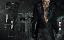 ::GB:: Long Jacket & open shirt (B+W) TMP