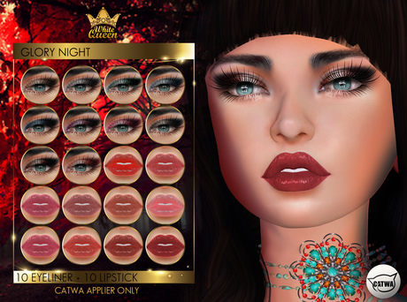 MAKE UP GLORY NIGHT - CATWA BY WHITE QUEEN