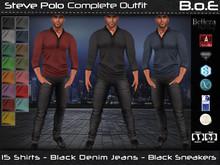 B.o.E - Steve Polo Outfit (box)
