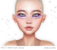 THIS IS WRONG Fight MakeUp - PINK
