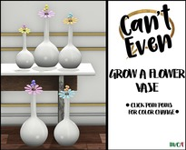 Can't Even - Grow a Flower Vase (Yellow) boxed