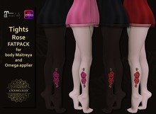 CHAMELEON - Tights Rose Fatpack for body Maitreya and Omega applier