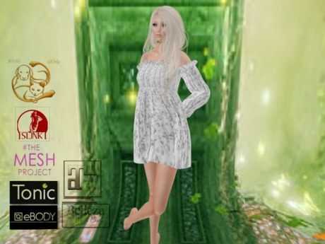 [RG] SummerWind Withe Dress Box