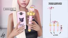 #Foxy - Magical Cat Girl Phone & Wand