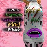 ".:Gintastic:. - Kemono Sweater Mod ""Bite me"" - White"
