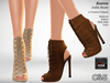 C&S Joan Ankle Boots - Maitreya, Slink High Belleza and Tonic . 10 Textures HUD.