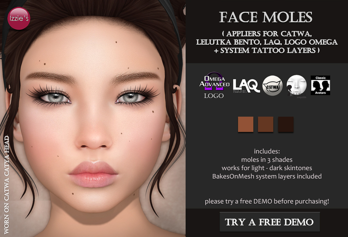 Izzie's - Face Moles