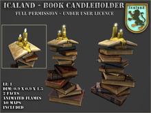 Icaland - Book Candleholder