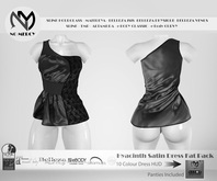 No Mercy - Hyacinth Satin Dress Fat Pack -DEMO - Maitreya / Slink / Belleza / Altamura / TMP / eBODY