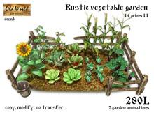 Rustic vegetable garden v1 - Old World - Medieval