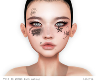 THIS IS WRONG Lelutka - Punk MakeUp DEMO