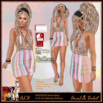 ALB MADISON dress kikoy - wearable Demo - SLink - Maitreya - Belleza by AnaLee Balut