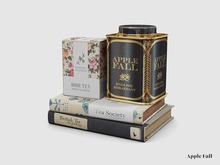 Apple Fall Tea Tins & Tea Books