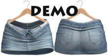 Blueberry - Bella - Unzipped Skirts - DEMO