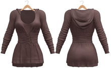 Blueberry - Liza - Corset Hoodie Dress - {Extra 4}