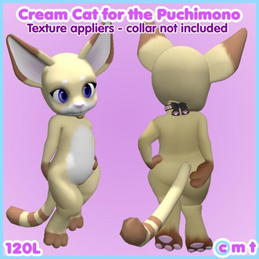 moldco Cream Cat for the Puchimono