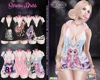 :: No Cabide :: Serena Dress - HUD 8 Models