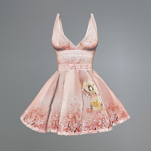 Sakura Maitreya Dress