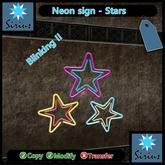 Sirius Neon Sign - Stars