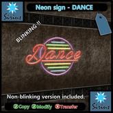 Neon Sign - Dance