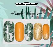 +abigailia+ Tropical Manicure MAITREYA