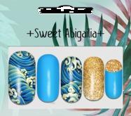 +abigailia+ the waves manicure MAITREYA