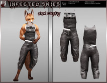 *IS* Ark Outfit Furry Black   (Boxed)