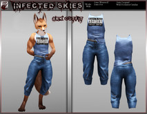 *IS* Ark Outfit Furry Blue   (Boxed)