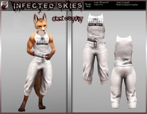 *IS* Ark Outfit Furry White   (Boxed)