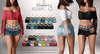 Blueberry - Calliope - Skirt & Belt - Fat Pack