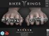 **RE** ReVoX Biker Rings Set - Signature Gianni - SLink Dynamic