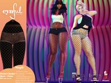[Cynful] Sweet Cheeks Shorts - Brown [Maitreya Lara, Belleza (Isis + Freya), Slink (HG), Legacy Female