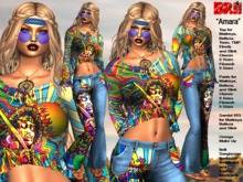 **AMARA V2 HIPPIE STYLE COMPLET OUTFIT **