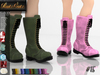 .: RatzCatz :. Laced Boots #15