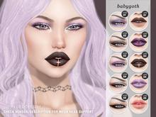 """alaskametro<3 """"Babygoth"""" makeup palette - Catwa"""