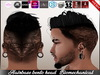 [ Hud ] Hairbase Unisex Tattoo Bento Head - The Best Biomechanical