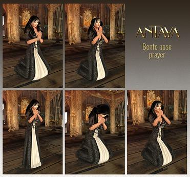 :: ANTAYA :: Bento pose prayer