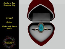 *SM*Mothers Day Turquoise Ring