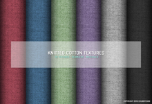 [B]Knitted cotton textures