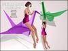 Boudoir-Wearable Origami Crane
