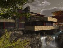 Namuri - Shoji Fallingwater Mansion