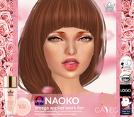 SKIN TONE ROSE NAOKO - OMEGA  BY WHITE QUEEN
