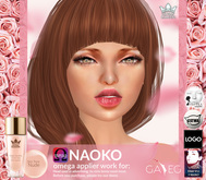 SKIN TONE NUDE NAOKO - OMEGA  BY WHITE QUEEN