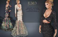 .:JUMO:. Violet Gown - Maitreya Belleza Slink - ADD ME