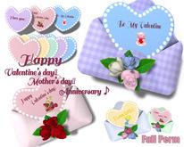 [ FULL PERM ] Anniversary Envelope & Gift Card