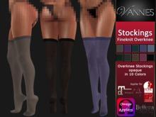 VANNIES Stockings Fineknit Overknees (Belleza, Maitreya, Slink, Omega)