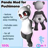 moldco Panda Mod for Puchimono
