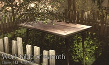 [Cinoe] Work table of warmth