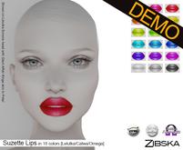 Zibska ~ Suzette Lips Demo [lelutka/catwa/omega]