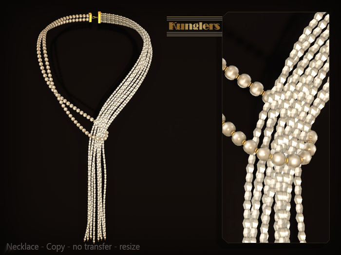 KUNGLERS - Sibilla necklace - Pearl